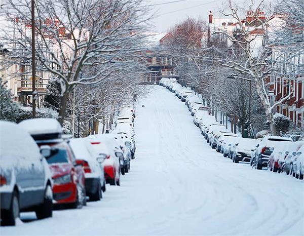 यूरोप में ठंड के कारण 35 लोगों की मौत, 20 के नीचे पहुंचा पारा