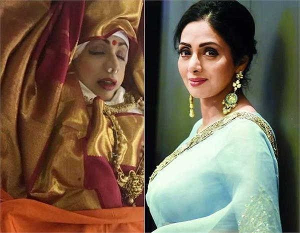 sridevi body embalmed why how its done