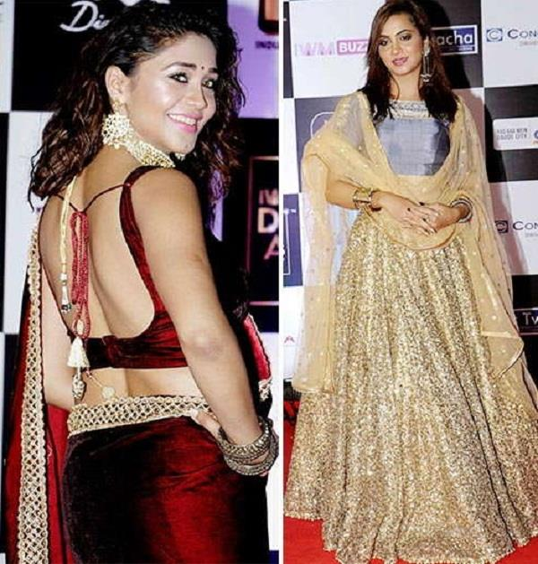 amrapali to arshi and other celebs attends iwm digital awards