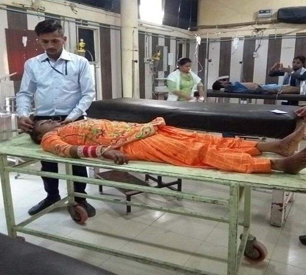 ससुराल लौट रही विवाहिता की रेलवे स्टेशन पर मौत