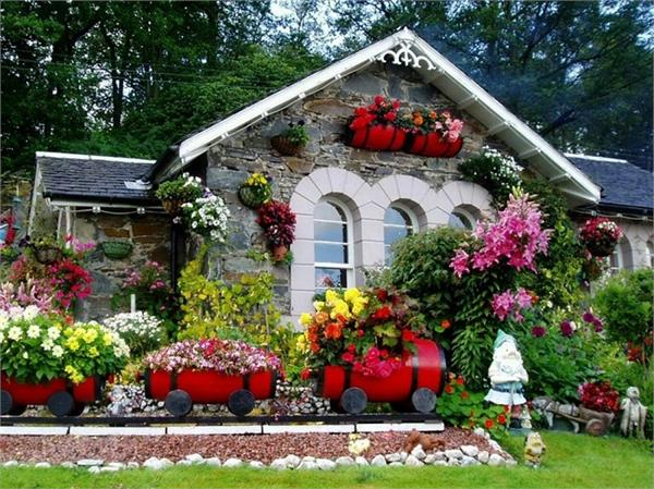 जेरिस्केपिंग बागवानी से महकाएं घर