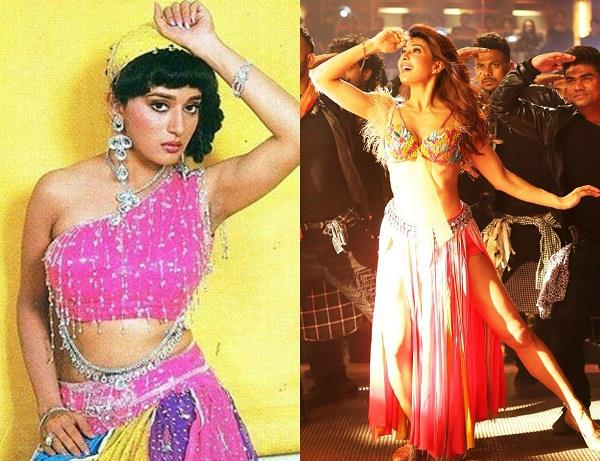 jacqueline fernandez madhuri dixit avatar in ek do teen song