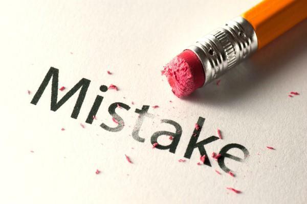 गलती होने पर खुद को कोसना नहीं होता ठीक