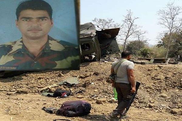 नक्सलियों का तांडवः छत्तीसगढ़ में किया आईईडी विस्फोट, बिहार का जवान शहीद