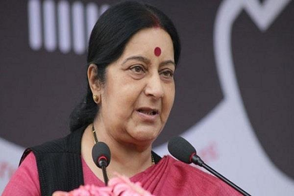 नरेश अग्रवाल के बयान पर विदेश मंत्री सुषमा स्वराज ने जताई नाराजगी
