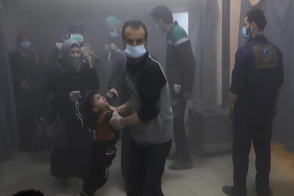 सीरिया के घौटा में बमबारी, 25 नागरिकों की मौत