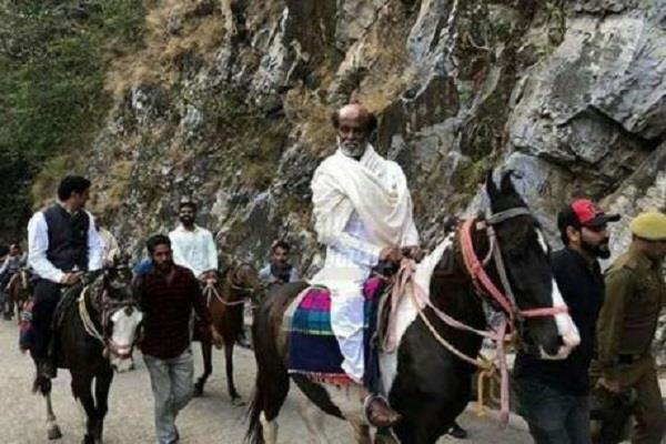 rajnikanth himalayas visit for spiritual meet sc nu