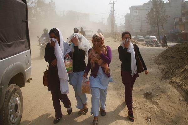 नेपाल में प्रदूषण से प्रति वर्ष 35,000 लोगों की मौत