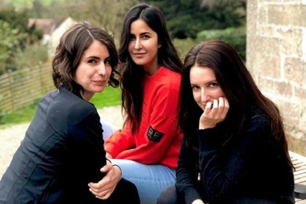 katrina kaif in london spending time with sisters