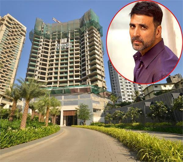 akshay kumar bought flats