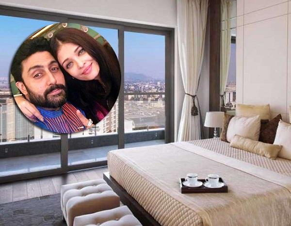 aishwarya abhishek new house inside pictures