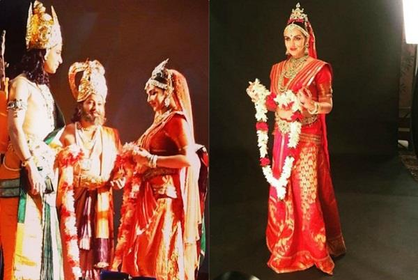 esha deol photoshoot as ramayana sita