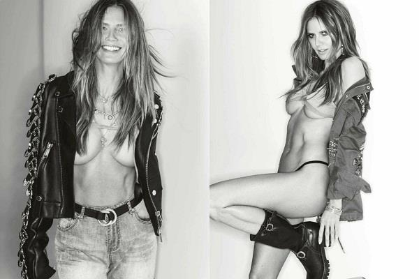 heidi klum goes topless in very sexy maxim cover shoot