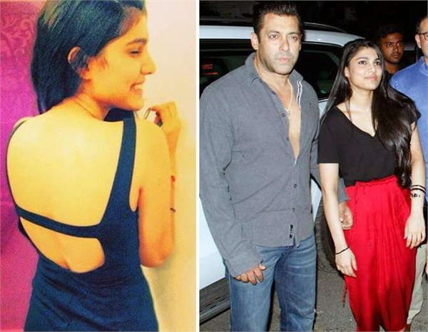 salman khan niece is extremely hot