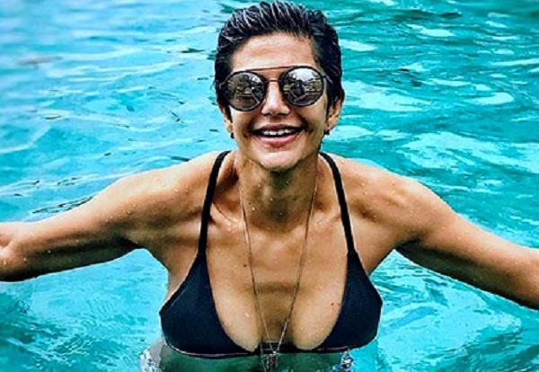 due to small hair limited to special roles said mandira bedi