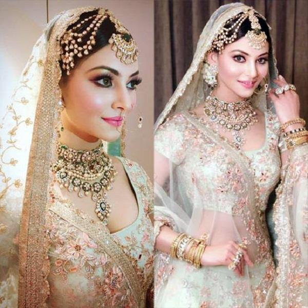 urvashi rautela bridal look