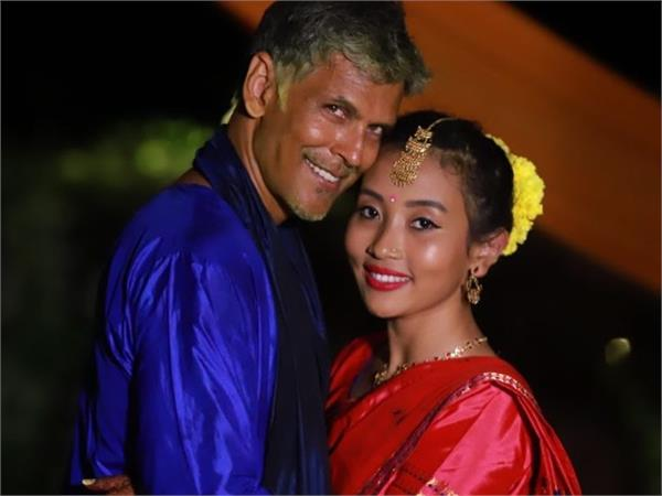 milind soman surprising initiative with wife after marriage tree plantation