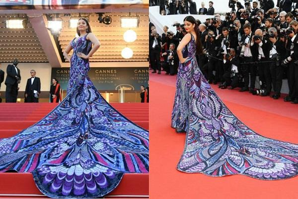 aishwarya rai bachchan butterfly look at cannes 2018