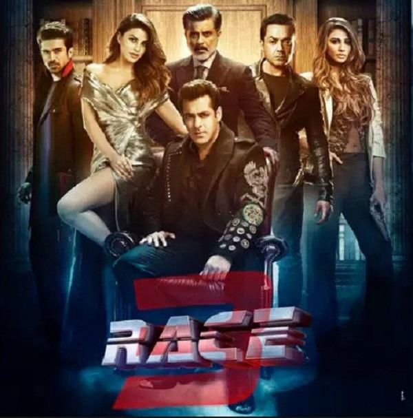 salman khan race 3 trailer crosses over 6 million views