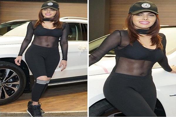 sherlyn chopra gifted herself brand new mercedes car