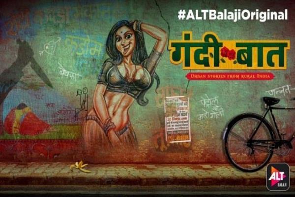 ekta kapoor web series gandii baat trailer release