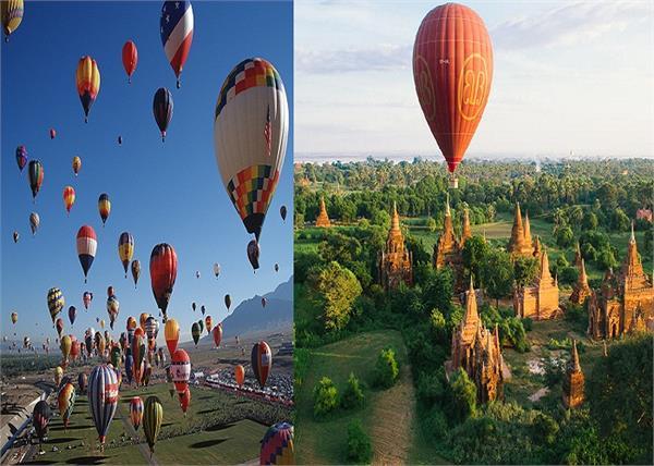 एडवेंचर के शौकीन है तो इन 5 जगहों पर करें Hot Air Balloon Ride
