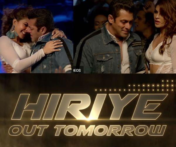 hiriye song teaser salman khan and jacqueline fernandez film race 3