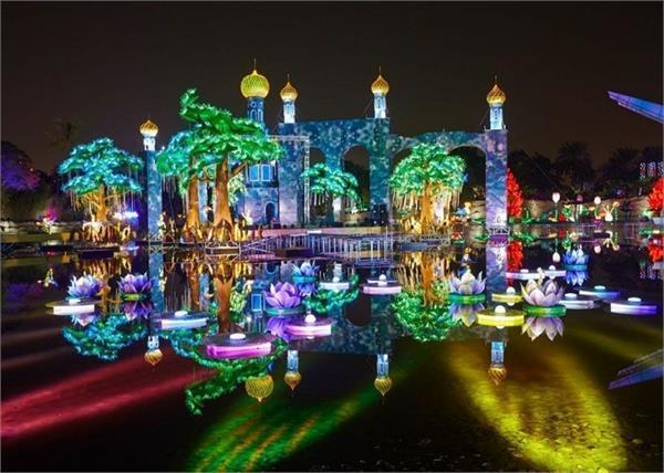 बेहद खूबसूरत है दुबई का यह Garden Glow पार्क, जरूर जाएं घूमने