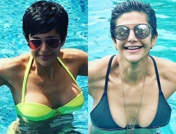mandira bedi trolls for sharing bikini picture