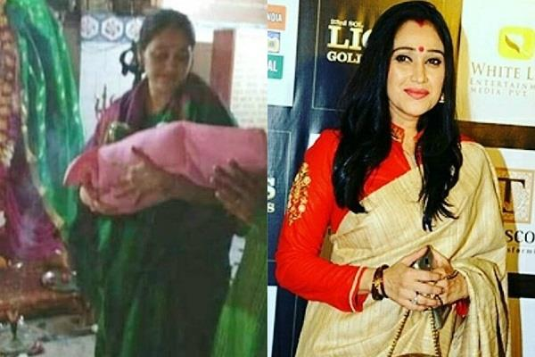 disha vakani shares first glimpse of her daughter