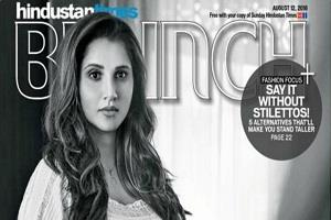 sania mirza pose with baby bump in new photoshoot