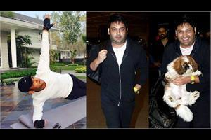 kapil sharma is preparing for his comeback and reducing fat with yoga