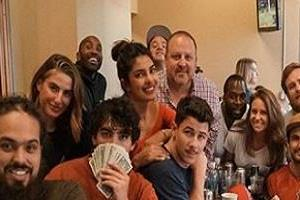 priyanka chopra throw party on nick birthday