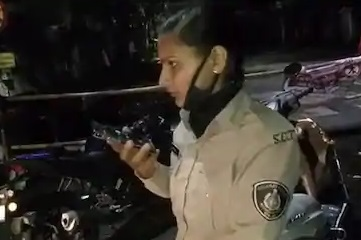 transfer of woman constable who stopped minister s son during lockdown