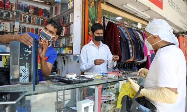 market opened in delhi after two months saw a stir