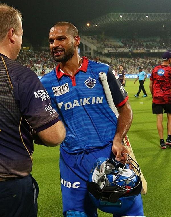 Shikhar dhawan revealed the reason why he took single on last ball