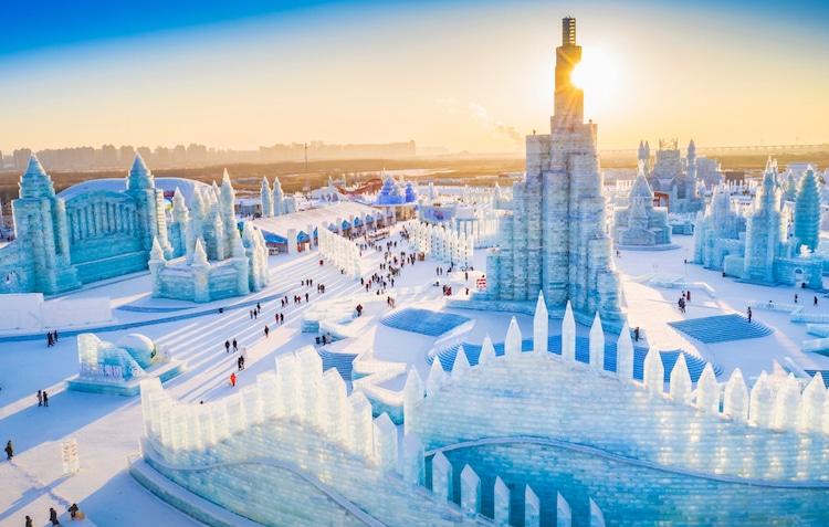 PunjabKesari Harbin Ice and snow festival