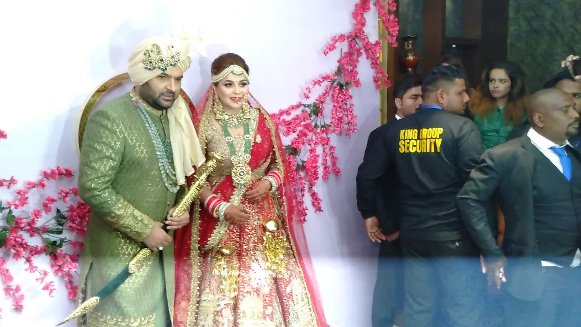 PunjabKesari, कपिल शर्मा इमेज, गिन्नी चतरथ इमेज,शादी