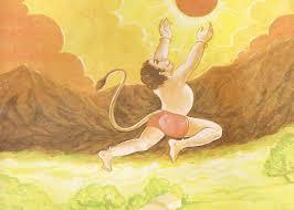 PunjabKesari When Hanuman ji curled his tail repeatedly