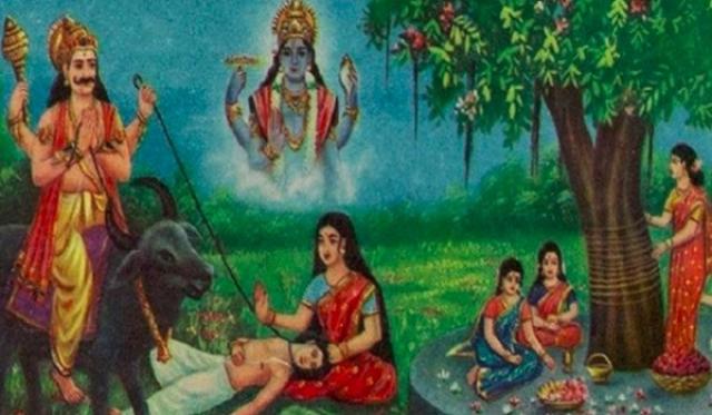 PunjabKesari Vat Savitri Vrat Katha