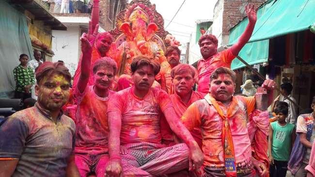 PunjabKesari Ganpati Visarjan