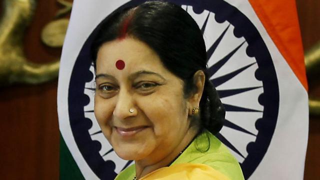 PunjabKesari Sushma Swaraj