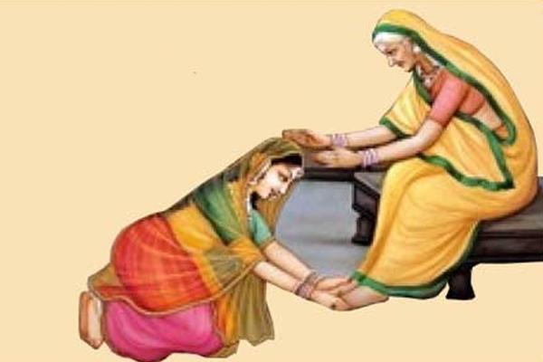 PunjabKesari Charan sparsh