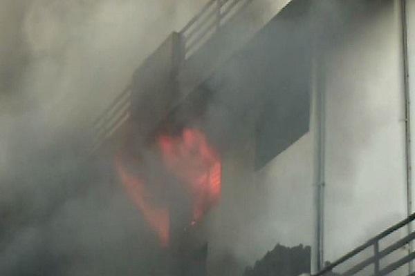 PunjabKesari, haryana hindi news, sonipat hindi news, fire, fire brigade, factory fire