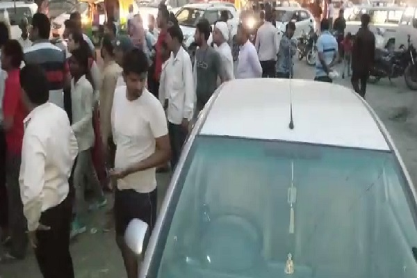 PunjabKesari, haryana hindi news, bahadurgarh hindi news, rohtak hindi news, accident, police, nh jaam