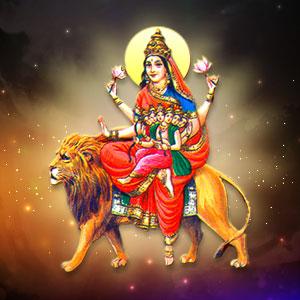 PunjabKesari, Chaitra Navratri 2019, Chaitra Navratri, Navdurga, Devi Durga, Devi Sakandmata, Fifth Devi Sakandmata