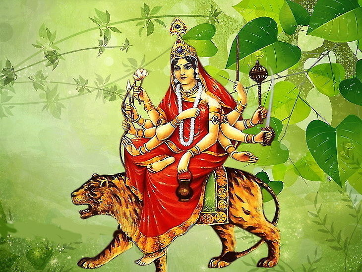 PunjabKesari, Third Navratri, Maa Chandraghanta Puja, Navratri 2019, शारदीय नवरात्रि, नवरात्रि 2019, shardiya navratri 2019, Maa Durga, Punjab kesari, hindu religion, hindu shastra, navratri pujan, Navratri dates, नवरात्रि, navratri importance