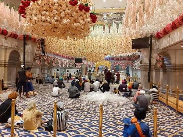 PunjabKesari, Devotees visited Gurdwara Sri Kartarpur Sahib