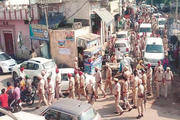 PunjabKesari, Despite the Indo-Pak tension, work of Kartarpur Sahib continues