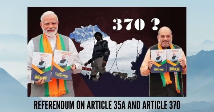 PunjabKesari Jammu Kashmir Ladakh Article 370 Section 35A